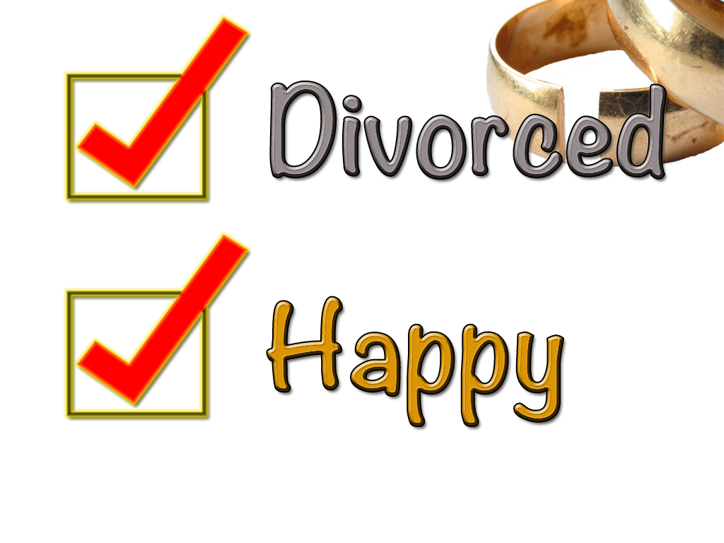 How to be happy after divorce